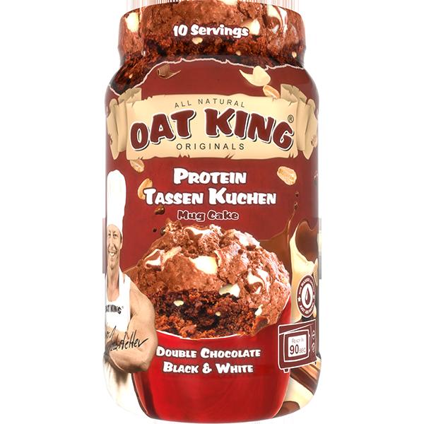 Oat King Double Chocolate Black White Tassenkuchen Oat King